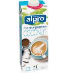 Product verpakking van Alprpo kokosnoot Drink 'For Professionals'