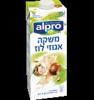אריזת מוצר של אלפרו משקה אגוזי לוז