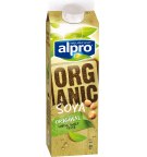 Product packaging of Alpro Soya Organic Chilled