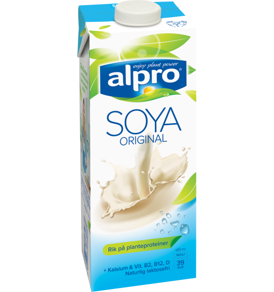 Produktpakning av Alpro Soya Original