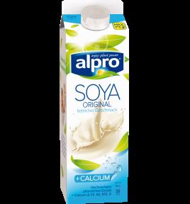 Produkt Verpackug von Sojadrink Original Gekühlt mit Calcium