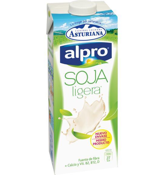 Resultado de imagen de bebida de soja alpro ligera
