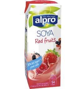 Alpro sójový nápoj červené ovoce
