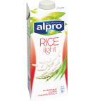 Product packaging of Alpro Rice Light
