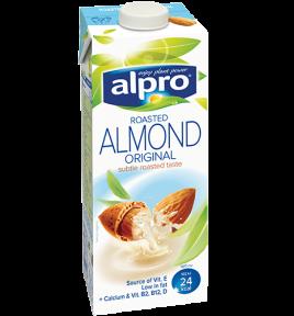 balenie produktu Alpro mandlový nápoj original