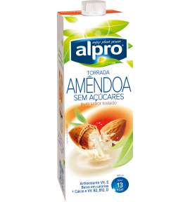 Alpro Bebida de Amêndoa Sem Açúcar