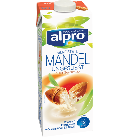 Produkt Verpackug von Mandeldrink Ungesüßt