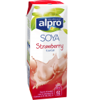 Product packaging of Alpro Soya Strawberry