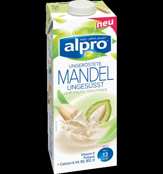 Produkt Verpackug von Mandeldrink Ungesüßt, Ungeröstet