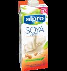 Produktpakning av Alpro Soya Usøtet