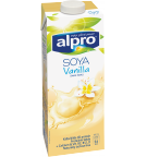 produktemballage til Alpro Soya Vanilje