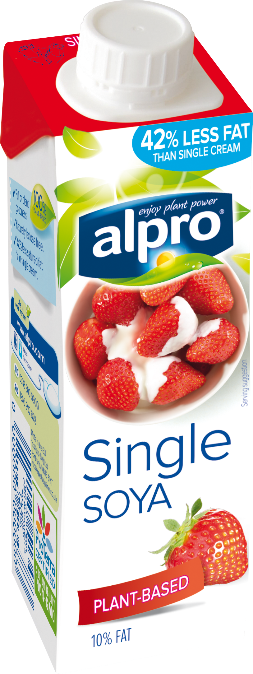 Print for Alpro soya cuisine light
