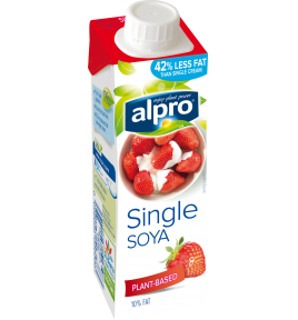 Product packaging of Soya Single Chilled