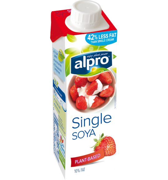 Product packaging of Alpro Soya Single Chilled
