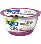 produktemballage til Alpro Go On Solbær