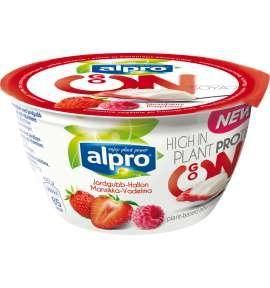 Alpro Go On Jordbær Hindbær