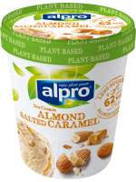 Almond Salted Caramel Ice Cream