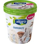Product packaging of Alpro Coconut ice cream