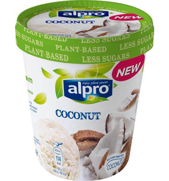 Ice Cream Coconut Alpro