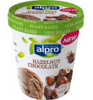 Product packaging of Alpro Hazelnut Chocolate ice cream