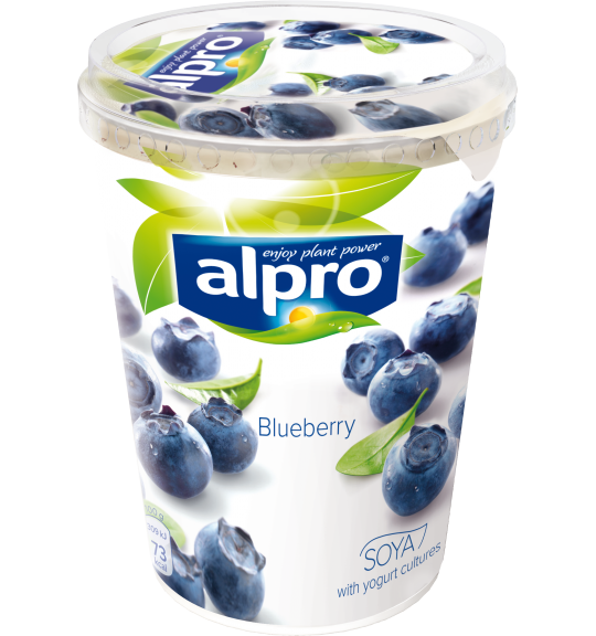 Product packaging of Alpro Blueberry