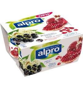 Alpro Cassis-Fleurs de sureau / Grenade