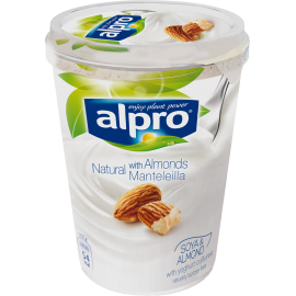 Obal  [product] Alpro biely s mandľami