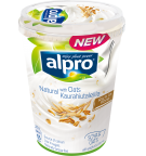 Tuotepakkaus Alpro Natural Kaurahiutaleilla