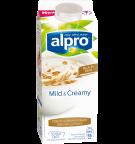 Produktförpackning av Alpro Mild & Creamy Naturell med Havre