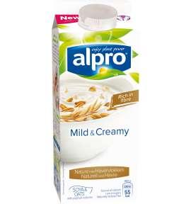 Alpro Mild & Creamy Naturell med Havre
