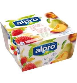 Alpro Polpa (Morango/Banana & Pêssego/Pera)