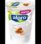 produktemballage til Alpro Naturel med mandler