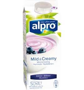 Alpro Mild & Creamy Blåbær