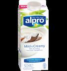 produktemballage til Alpro Mild & Creamy Naturel med Kokos
