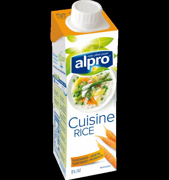 Embalagem do produto Alpro Alternativa às Natas Culinárias, à base de Arroz