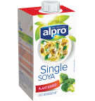 Product packaging of Alpro Soya Cuisine Single UHT