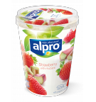 Alpro Strawberry with Rhubarb