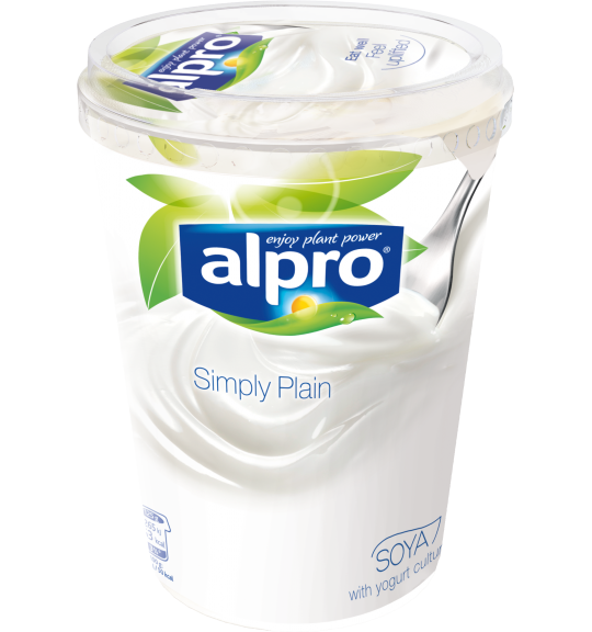 Product packaging of Alpro Simply Plain