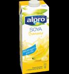 Confezione di Bevanda alla Soia Alpro Gusto Banana