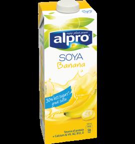 Bevanda alla Soia Alpro Gusto Banana