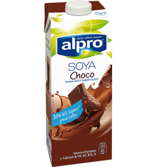 Risultati immagini per latte di soia alpro