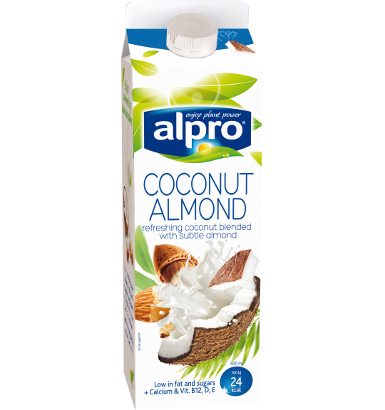 Product packaging of Alpro Coconut Almond Chilled