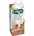 Product packaging of Alpro Coconut Chocolate Chilled<br />'on the go'