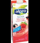 Product verpakking van Sojadrink Rode vruchten