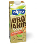 Product packaging of Alpro Organic Wholebean