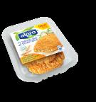 Product verpakking van Alpro tarwe Schnitzels licht gekruid