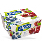 Product packaging of Alpro Blueberry & Cherry