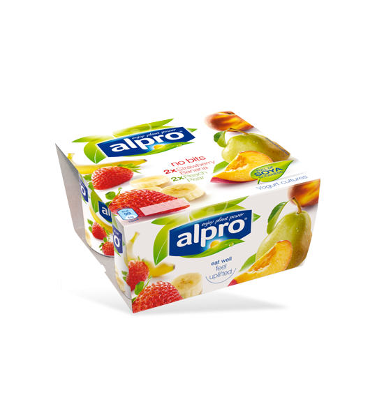 Product packaging of Alpro No Bits