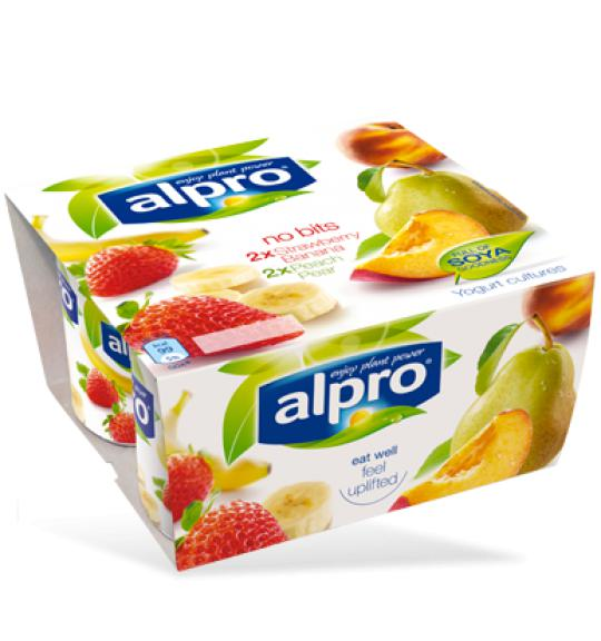 Plant based yogurt altermative | Small | Blueberry & Cherry | Alpro
