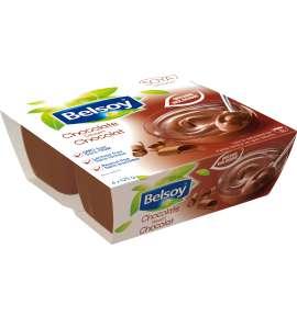 Belsoy pudding au Chocolat biologique